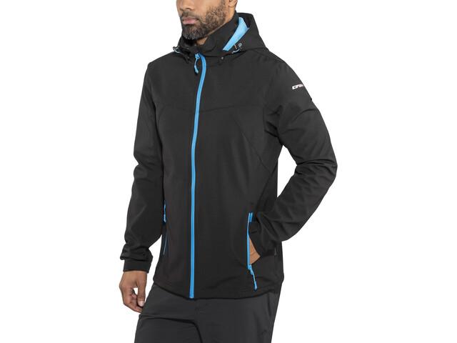 100% hohe Qualität Fang Markenqualität Icepeak Lukas Softshell Jacket Herren black